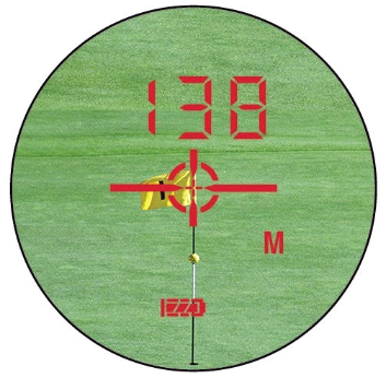 dublisGolf: LEUPOLD GX-3i² LCD-Anzeigendisplay