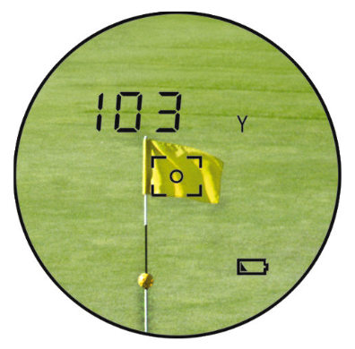 dublisGolf: LEUPOLD PinCaddie2 LCD-Display